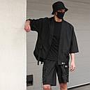 Кимоно чёрного цвета от бренда ТУР модель Лю Кан (Liu Kang),размер S,M,L,XL, фото 2