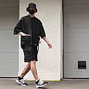 Кимоно чёрного цвета от бренда ТУР модель Лю Кан (Liu Kang),размер S,M,L,XL, фото 3