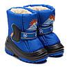 Синие, теплые дутики Демар, для мальчика, размер 20-29