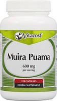 Vitacost Muira Puama - 600 мг на порцию - 120 капсул