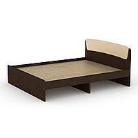 Кровать Классика -160 двухспальная деревянная, мебель для спальни (Компанит)
