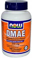 NOW DMAE 250 мг - 100 веган кап