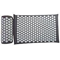 Набор Массажный акупунктурный коврик + подушка Аппликатор Кузнецова (apl-005)