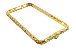 Железный бампер чехол iphone  6 / 4,7 -- золотой, золото