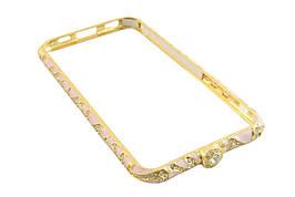 Железный бампер чехол iphone  6 / 4,7 -- золотой, розовый