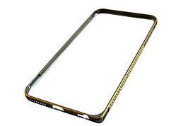 Залізний бампер чохол iphone 6+ / 5,5 -- СІРИЙ