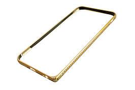 Железный бампер чехол iphone 6+ / 5,5 -- ЗОЛОТО