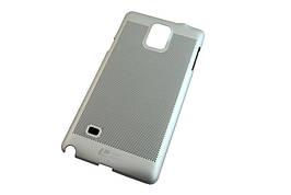 Чехол на Samsung Galaxy Note4 -- СЕРЕБРО