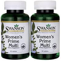 Women's Prime Multivitamin. Swanson 90капсул