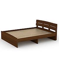 Кровать Модерн-160 двухспальная деревянная, мебель для спальни (Компанит)