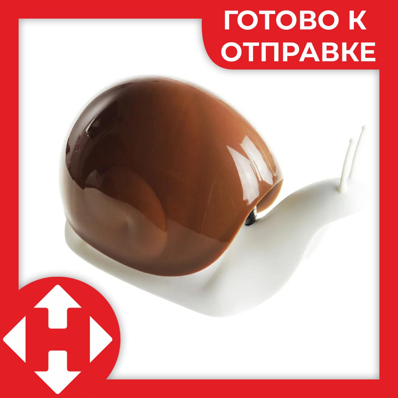 Распродажа! Диспенсер для жидкого мыла улитка Snail мыльница кофейная - дозатор для мыла настольный