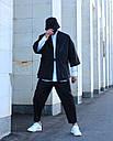 Кимоно чёрного цвета от бренда ТУР модель Хиори,размер S,M,L,XL, фото 6