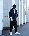 Кимоно чёрного цвета от бренда ТУР модель Хиори,размер S,M,L,XL, фото 7