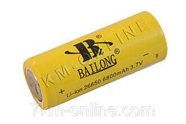 Аккумулятор Bailong 26650 6800 mah