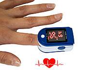Пульсоксиметр для измерения пульса и сатурации Fingertip pulse AB-88, измеритель пульса на палец
