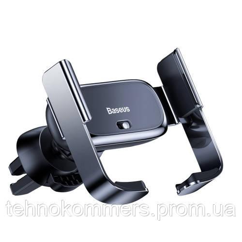 Тримач для мобільного Baseus Mini Electric Car Holder Black, фото 2