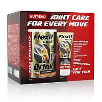 NUTREND Flexit Drink gold 400 gr + Flexit Gold Gel 100 мл Для суставов и связок (глюкозамин, хондрои