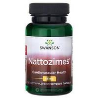 Хорошое Кровообращение Swanson Ultra Nattozimes, 65 мг, 90 вегетарианских капсул