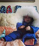 Комбинезон зимний с натуральным мехом, фото 7