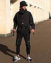 Анорак мужской черный от брнеда ТУР Кадзима размер: S, M, L, XL, XXL, фото 5