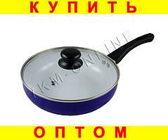 Сковородка с керамическим покрытием 22 см --- 3 ЦВЕТА