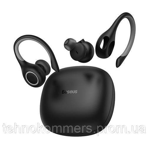 Навушники Baseus W17 Bluetooth Black, фото 2