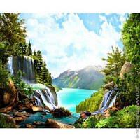 "Раскраска по номерам на дереве 40*50см ""Природа"" Josef Otten ., фото 1"