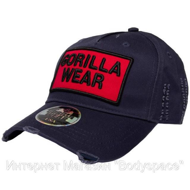 Gorilla Wear, Бейсболка Harrison Cap Black/Red
