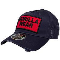 Gorilla Wear, Бейсболка Harrison Cap Black/Red, фото 1