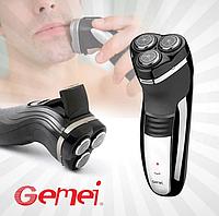 Триммер для бороды GEMEI GM 7300, аккумуляторная мужская бритва