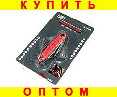 Набор шестигранников для ремонта велосипедов XT - 0915