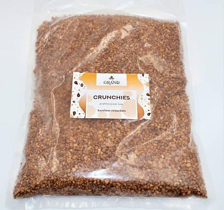 Карамелізований лісовий горіх подрібнений CRUNCHIES GRAND 1 кг, фото 2