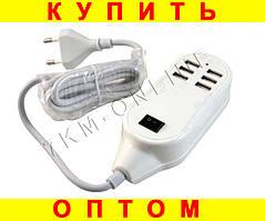 Адаптер на 6 USB зарядное устройство на 6 usb порта