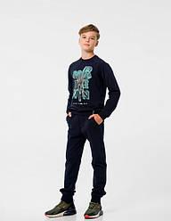 Спортивный костюм для мальчиков с начесом, Smil арт. 117239, 128 см