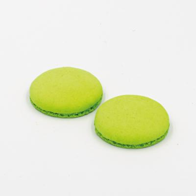 Макаронс напівфабрикат кришечки половинки зелені, фото 2