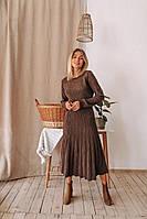 Элегантное вязанное платье
