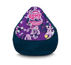 "Крісло мішок ""My Little Pony. Twilight Sparkle and star"" Флок"