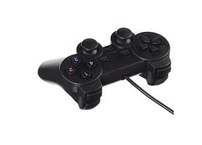 USB джойстик для ПК PC GamePad DualShock вибро DJ-208 игровой джойстик для компьютера, фото 3