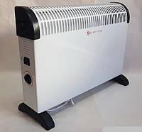 Конвекторный обогреватель CB 2001 Crownberg электрический для дома квартиры кухни с терморегулятором