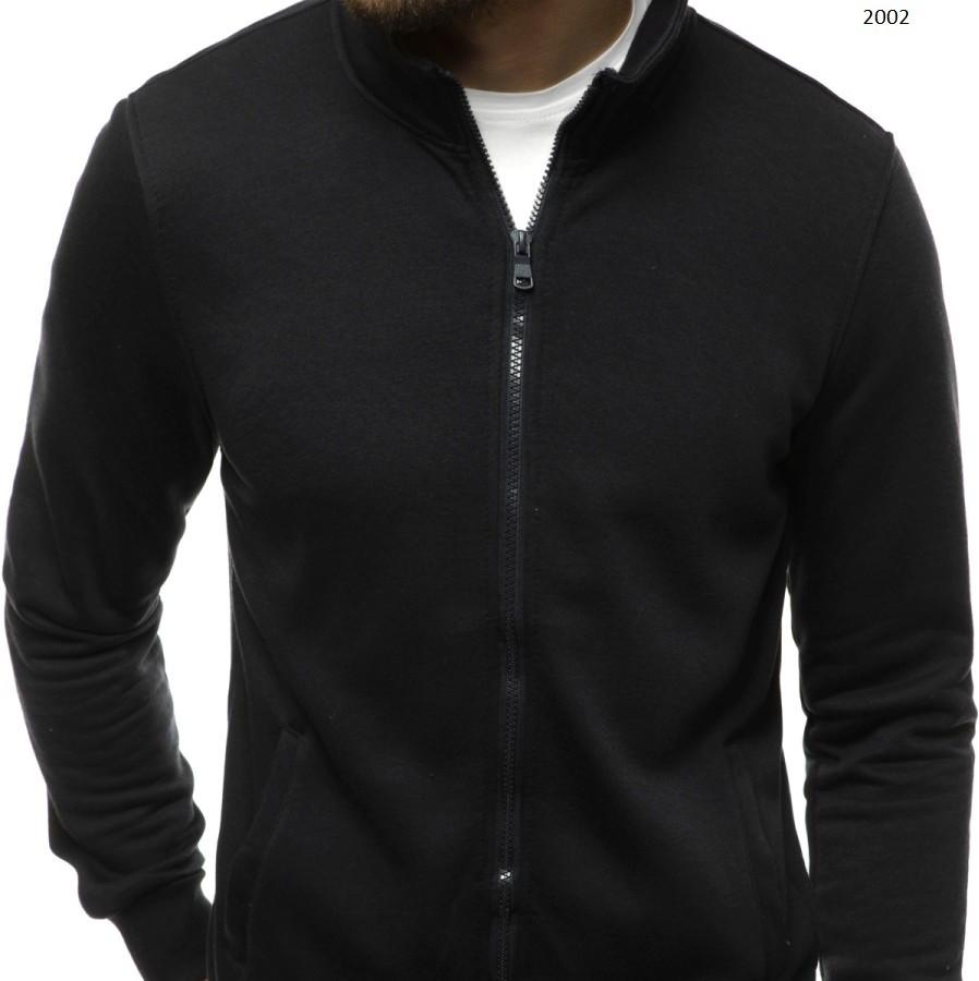 Мужская спортивная кофта - толстовка черная