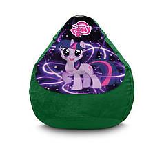 """Крісло мішок """"My Little Pony. Happy Twilight Sparkle"""" Флок"""