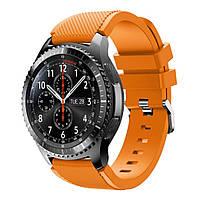 Ремешок для Samsung Galaxy Watch 3 45 mm силиконовый 22 мм ECO Оранжевый BeWatch (1021107), фото 1