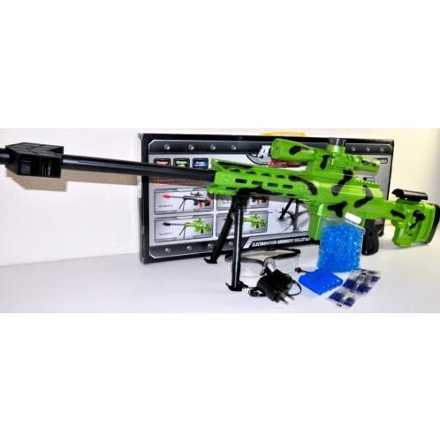 Детская игровая винтовка для мальчиков.Игрушечная пневматическая винтовка на аккумуляторе.