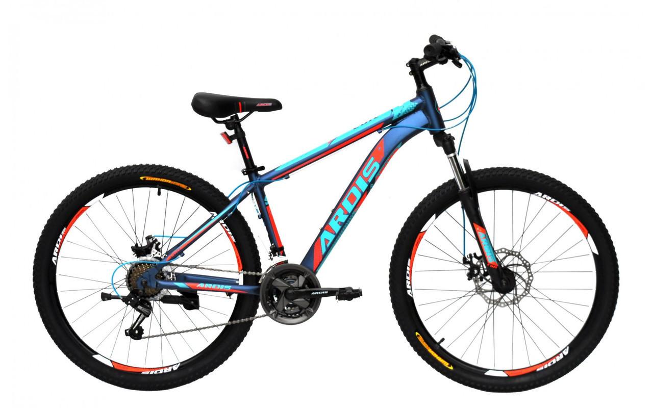 """Горный велосипед Ardis COLT R26"""" 17"""" алюминиевый с дисковыми тормозами (Красно-синий)"""
