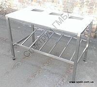 Разделочный стол для мяса 1300х700х850, фото 1