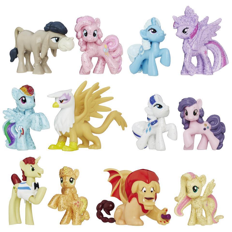 My Little Pony Набор 12 пони друзья Сверкающий Elements of Friendship Sparkle Friends Collection