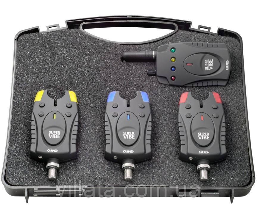 Сигналізатори для риболовлі Robinson Super Vibe 3+1