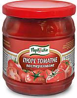 Пюре томатное пастеризованное 15% ТМ Смачна кухня, 400 г, фото 1