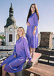 Сукня фіолетова в горох VEREZHIK HOUSE, фото 4