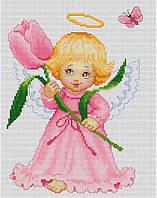 Набор для вышивки крестом Luca-S B193 Цветочек для мамы
